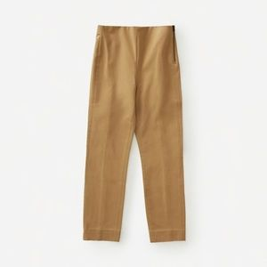 Everlane Side Zip Work Pants in Camel Size 2